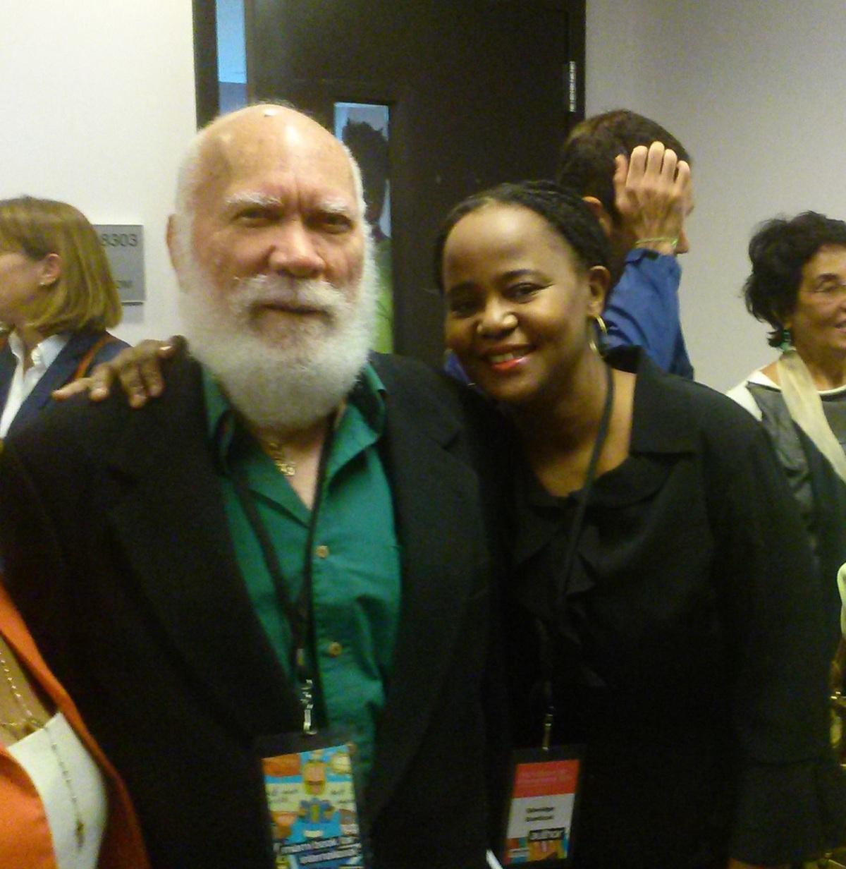 Deux grands écrivains haïtiens à la Foire du Livre deMiami