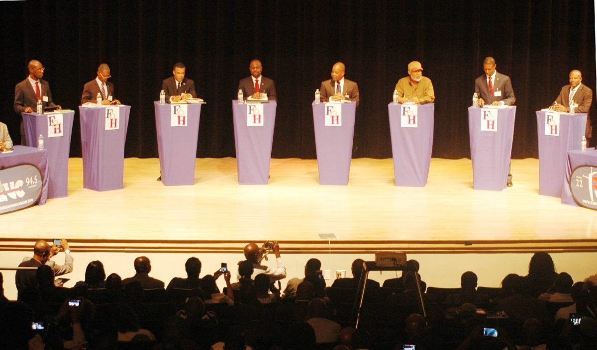 Presidential Debate in North Miami